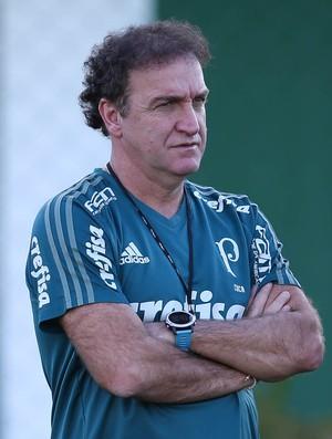 Cuca treino Palmeiras (Foto: Cesar Greco/Ag Palmeiras)