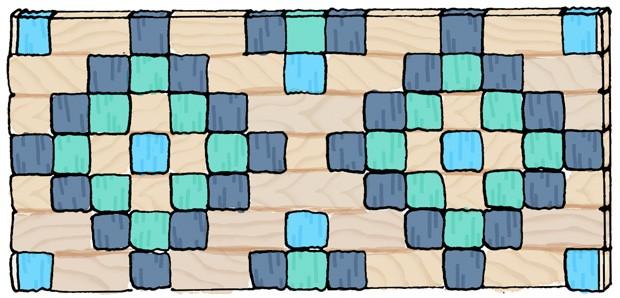 molde cabeceira (Foto: Ilustração: Luiz Lula)