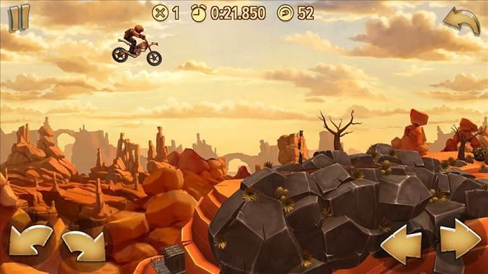 Trial frontiers tem pistas com incríveis panoramas (Foto: Divulgação/Ubisoft)