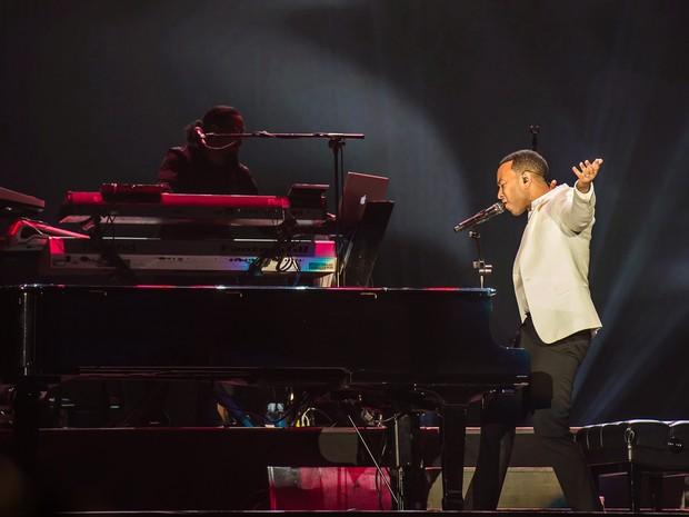 ROCK IN RIO USA: o norte-americano John Legend se apresenta no último dia de festival (Foto: Divulgação)