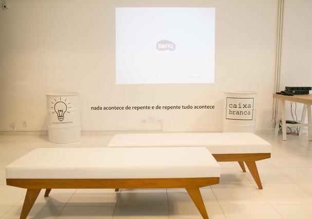 Espaço Caixa Branca (Foto: Divulgação)
