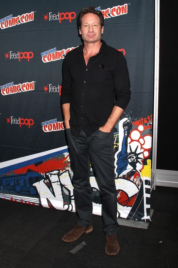 O ator David Duchovny participou da série 'Red Shoe Diaries' (Foto: Getty Images)