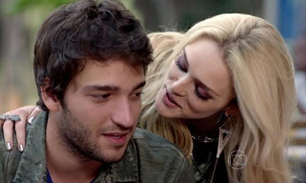 Davi e Megan (Foto: Geração Brasil / TV Globo)