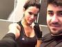 Bruna Marquezine aparece suada em foto após treino de luta