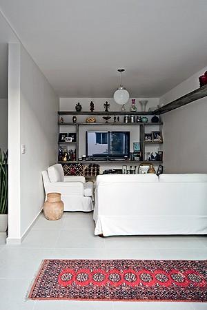 Privacidade para a TV  (Foto: Maíra Acayaba)