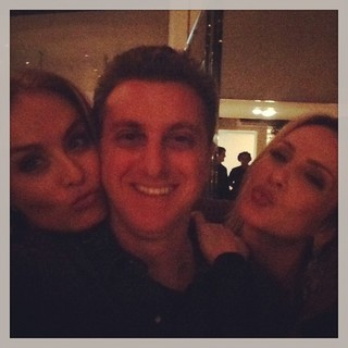 Angélica e Luciano Huck em festa de Claudia Leitte no Rio (Foto: Instagram/ Reprodução)