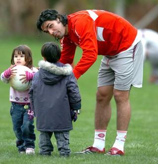 3294ba0dc607e Filho de Fernandão usa o futebol para manter elo e lidar com a morte ...