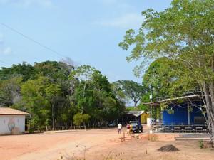 Fazenda é localizada a 26 km de Boa Vista (Foto: Natacha Portal/ G1)