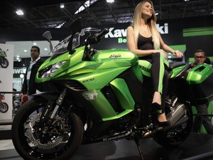 Kawasaki Ninja 1000 (Foto: Caio Kenji/G1)