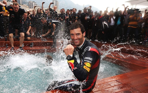 GP de Mônaco, F1, Mark Webber (Foto: Agência Getty Images)
