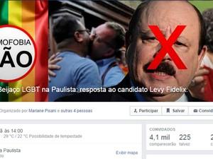 Grupo cria evento contra a homofobia no Facebook (Foto: Reprodução)