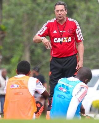 Vanderlei Luxemburgo Treino flamengo (Foto: Gilvan de Souza / Flamengo)