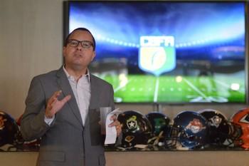 Lançamento da Superliga Nacional de Futebol Americano (Foto: Sidinei Mota / Divulgação)