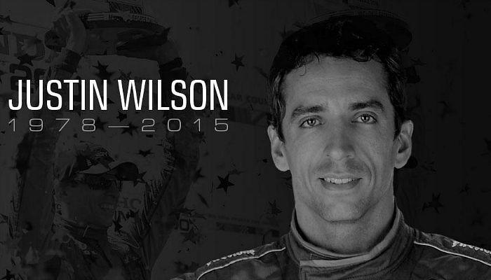 Justin Wilson acidente Fórmula Indy