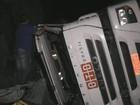 Carreta carregada com cerveja tomba e carga é saqueada por motoristas