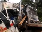 Acidente entre caminhões deixa um morto e dois feridos no Acre