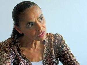 Marina Silva concede entrevista exclusiva ao G1/ Foto 1 (Foto: Fabiano Costa/G1)