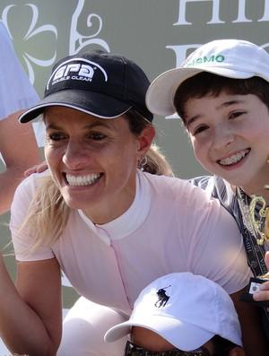 Márcia e Geraldinho comemoram resultado (Foto: Divulgação)