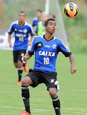 Gabriel treino Flamengo (Foto: Alexandre Vidal / Flaimagem)