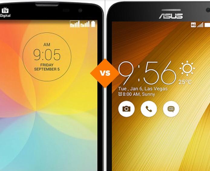 LG L Prime vs Zenfone 2: veja qual celular vence o comparativo (Foto: Arte/TechTudo)