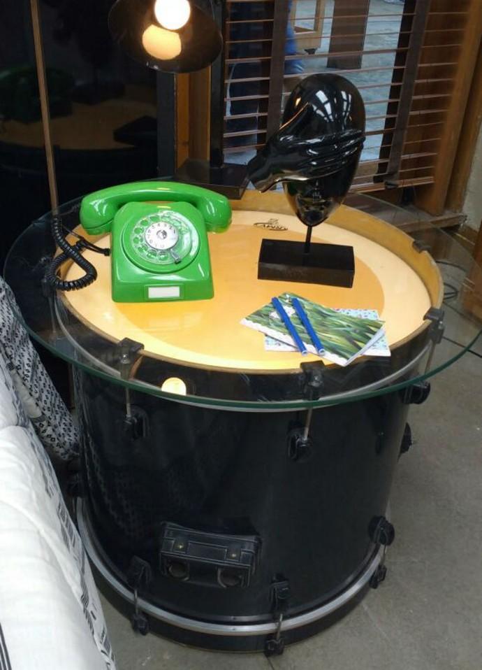 Mesa de cabeceira  (Foto: Raquel Gonzalez/Gshow)