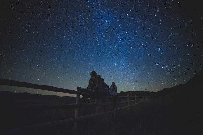 Céu estrelado (Foto: Reprodução/Pixabay)