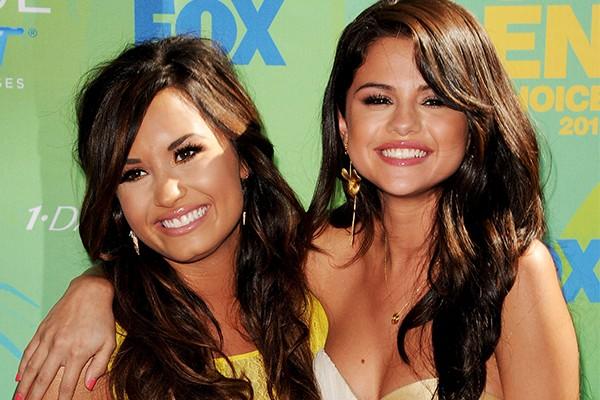 Demi Lovato e Selena Gomez (Foto: Getty Images)