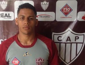 Antônio Carlos Patrocinense CAP lateral-esquerdo (Foto: Patrocinense/Divulgação)