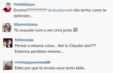 Comentários Cláudia Raia (Foto: Instagram / reprodução)
