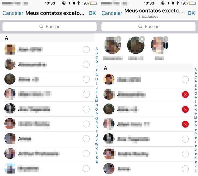 Como configurar a privacidade do Status do WhatsApp (Foto: Reprodução/Felipe Vinha)