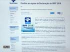 Receita recebeu mais de 3 milhões de declarações do Imposto de Renda