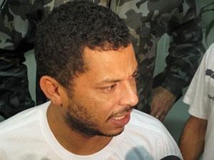 O presidente da Gaviões da Fiel, Antonio Alan Souza Silva, também teve prisão preventiva solicitada (Foto: Roney Domngos/G1)