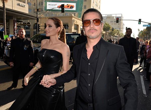Angelina Jolie e Brad Pitt (Foto:  )