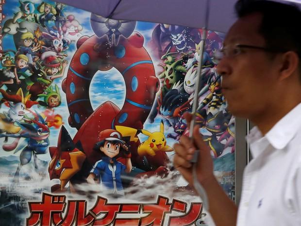 Pokémon GO foi lançado no dia 6 de julho e já está disponível em 35 países (Foto: Reuters)