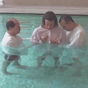 David Luiz batismo Paris Saint-Germain (Foto: Reprodução)