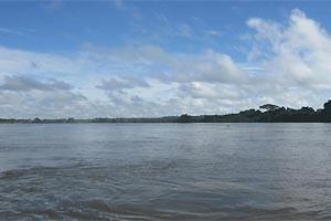 Rio Xingu, no Pará, vai abrigar hidrelétrica de Belo Monte, prevista para ser a segunda maior do país em capacidade. (Foto: Mariana Oliveira / G1)