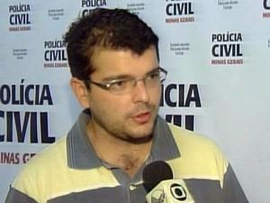 Delegado de São Sebastião do Paraíso é atropelado durante operação (Foto: Reprodução EPTV)