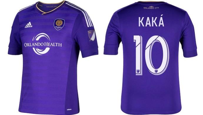 Camisa Kaká Orlando City (Foto: Reprodução/ Twitter)
