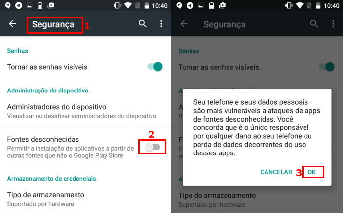 Downgrade no Android: como desfazer a atualização de um