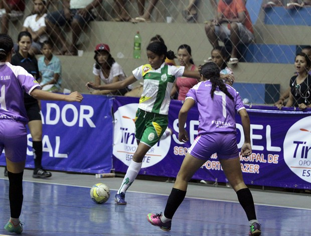Assifpi/Auristela Soarese Jequie E.C - Taça Brasil de Futsal Feminina - Primeira Divisão (Foto: Zerosa Filho/CBFS)