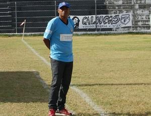 Mirandinha, técnico do Lucena-PB (Foto: Iago Bruno / GloboEsporte.com/pb)