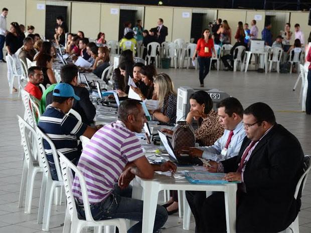 O Mutirão DPVAT foi realizado até a quinta-feira (28). (Foto: Ednaldo Araújo/Tribunal de Justiça da Paraíba)