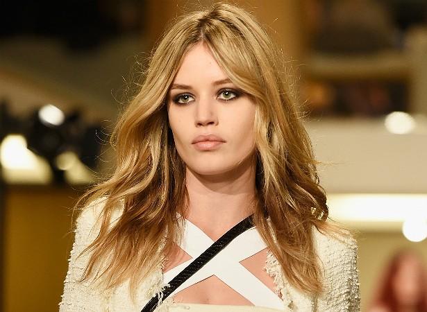 """Esse """"bocão"""" não mente! A modelo Georgia May Jagger, de 23 anos, é filha, claro, de Mick Jagger, dos Rolling Stones. (Foto: Getty Images)"""