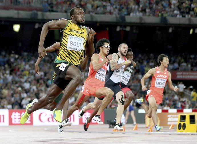 Usain Bolt avança à final dos 200m rasos (Foto: EFE)