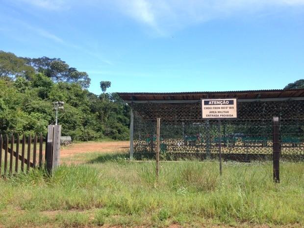 Amarmento foi  furtado na Operação Boina, segundo comandante, em Guajará-Mirim (Foto: Júnior Freitas/ G1)