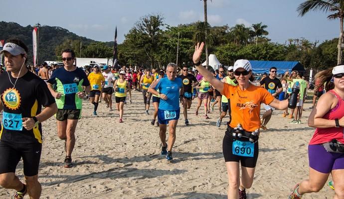 Ultramaratona de revezamento maresias bertioga euatleta (Foto: Divulgação)