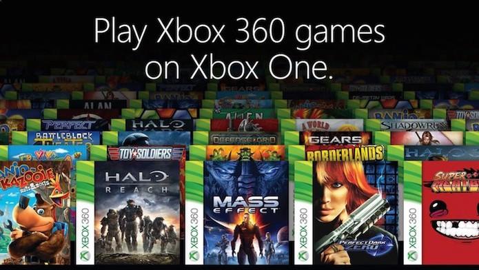 Xbox One: sistema de retrocompatibilidade chega gratuitamente em novembro (Foto: Divulgação/Microsoft) (Foto: Xbox One: sistema de retrocompatibilidade chega gratuitamente em novembro (Foto: Divulgação/Microsoft))