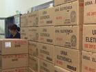 Urnas são distribuídas nos locais de votação (Ronaldo Gomes/EPTV)