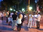 Médicos fazem protesto em Valadares contra decisões federais