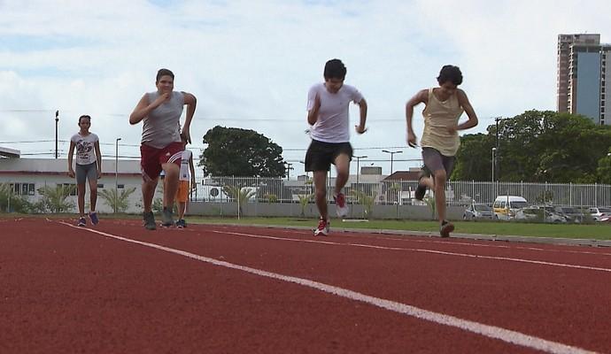 Vila Olímpica Parahyba (Foto: Reprodução / TV Cabo Branco)
